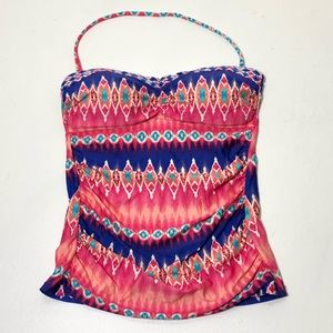 Women's Size 4 La Blanca Aztec Halter Swim Top